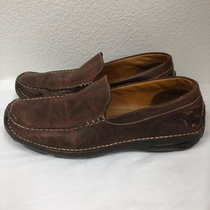 Cole Haan Brown slip on loafers driving shoes 11M